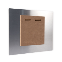 Wall Mounted Photo - Duo hole mounting for big square panel